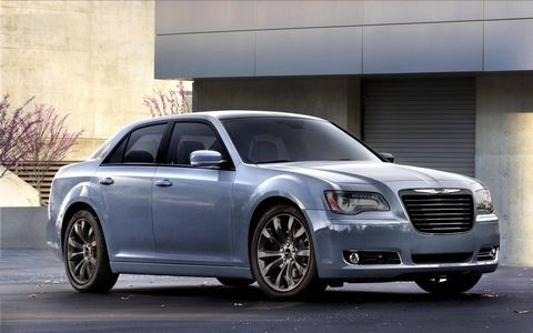 The 2014 Chrysler 300S set to debut at the LA Auto Show.