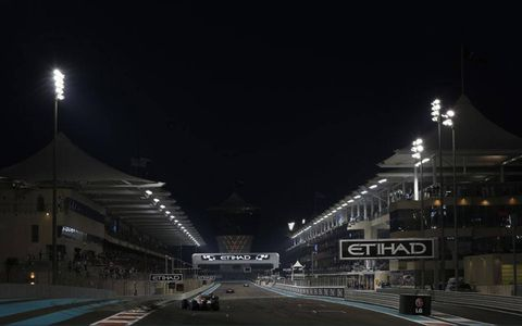 Yas Marina Circuit, Abu Dhabi: Paul di Resta, Force India Mercedes.