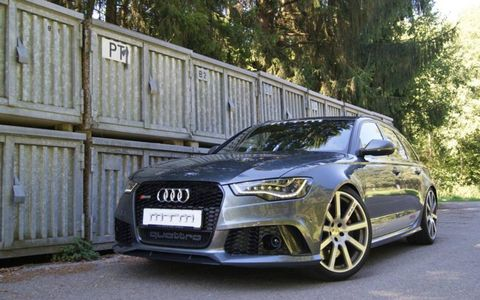 The RS6 Avant with MTM's C7 power pack can reach 211 mph.