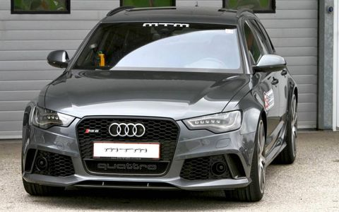 The RS6 Avant by MTM can make the dash to 60 in just 3.3 seconds.