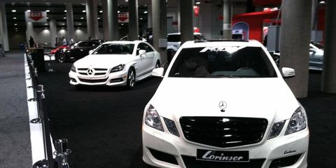 RTW takes the Mercedes and adds a dash of style with matte white paint