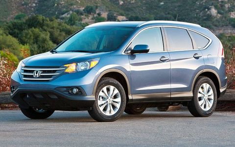 The 2012 Honda CR-V was unveiled at the Los Angeles Auto Show this week.