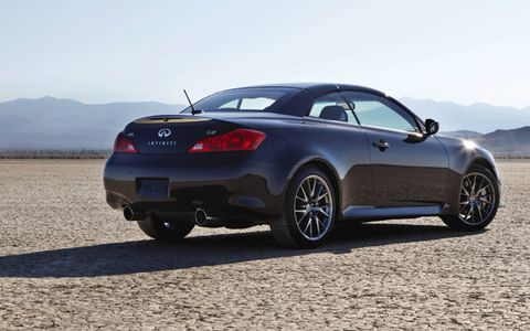 The Infiniti IPL G Convertible is the second model in the Infiniti performance lineup