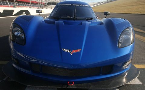 The 2012 Corvette Daytona was inspired by the IMSA GTP Corvette prototype by Hendrick in the 1980s