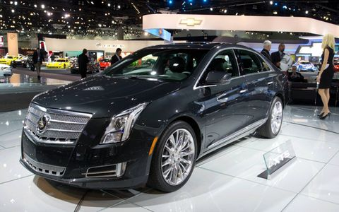 The 2013 Cadillac XTS debuted this week in Los Angeles