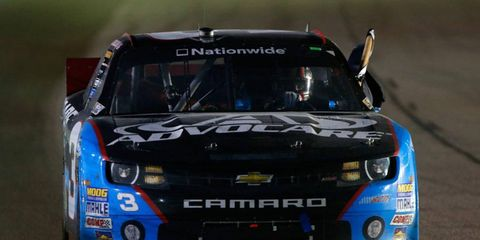 Austin Dillon's 13th-place finish was good enough to secure his first NASCAR Nationwide Series title on Saturday night at Homestead, Fla.