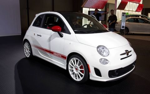 2012 Fiat 500 Abarth debuted this week in Los Angeles