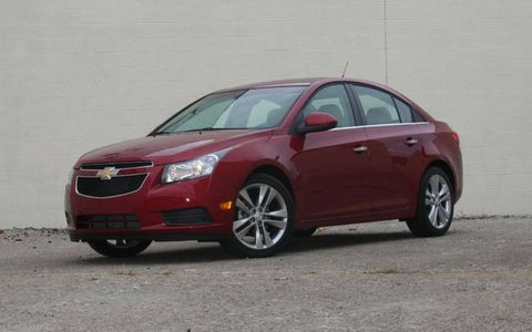 Driver's Log Gallery: 2011 Chevy Cruze LTZ