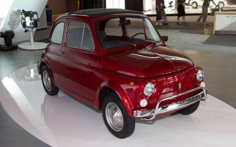 The original Fiat 500.