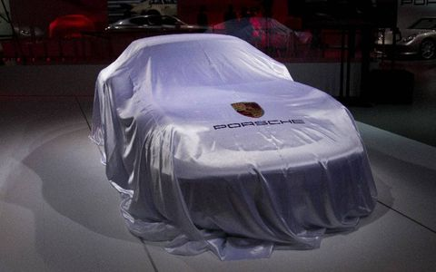 Porsche prepares to unveil the Panamera GTS at the Los Angeles Auto Show