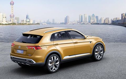 Volkswagen has tweaked the CrossBlue a bit since it was shown at the 2013 Shanghai Auto Show.