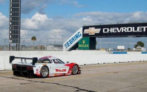 Moving up from the GT ranks, the Whelen-sponsored Marsh Racing team is a new addition to the Prototype ranks with the Chevrolet Corvette, built to Daytona Protottpe specs.