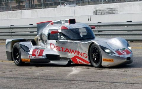 The DeltaWing competed in the ALMS P1 class last year, but with that class eliminated in the merger, it will race in the Prototype category in the new Tudor United SportsCar Championship.