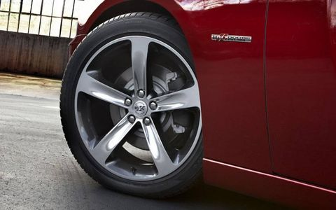 The 2014 Dodge Charger 100th Anniversary Editions are available in Pitch Black, Bright White, Billet Silver, Granite Crystal, Ivory Tri-Coat, Phantom Black Tri-Coat, Header Orange and all new High Octane Red Peal Coat paint.