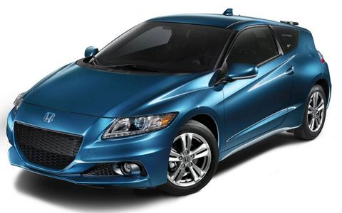 The 2013 Honda CR-Z gets a lithium-ion battery pack.