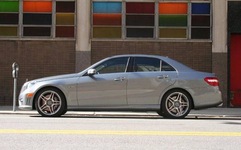 Driver's Log Gallery: 2011 Mercedes-Benz E63 AMG