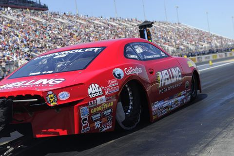 Sights from the NHRA Four-Wide Nationals at zMax Dragway, Sunday April 29, 2018.