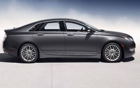 The 2013 Lincoln MKZ is based on the Ford Fusion.