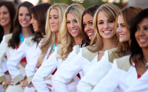 The grid girls of Circuit of the Americas welcomed fans to Austin, Texas.