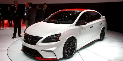 The Nissan Sentra Nismo Concept would be quite the barnstormer with 240 horsepower.