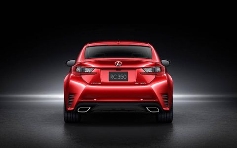Pricing and availability is unavailable at this time for the Lexus RC Coupe.