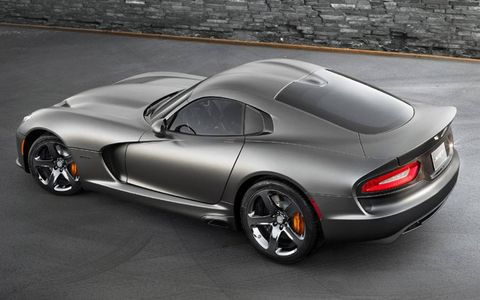 The Anodized Carbon Special Edition SRT Viper GTS is an appearance upgrade only.