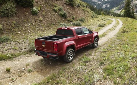 The 2015 Chevy Colorado features two gasoline engines and a diesel.