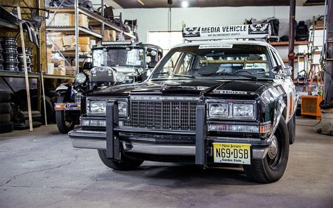 A 1988 Plymouth Gran Fury will be coming along as a media/support car.