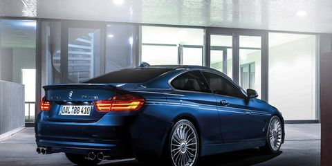 Alpina has brought the new B4 Bi-Turbo coupe to Tokyo, in addition to other models.