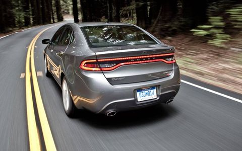 We found the optional 1.4-liter turbocharged inline four in our 2013 Dodge Dart Limited to be a bit buzzy, but it was plenty of fun once we got the revs up.