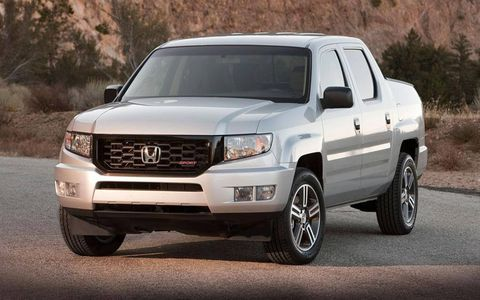 Despite its rear pickup bed, the 2012 Honda Ridgeline Sport rides and drives more like a crossover than a truck.