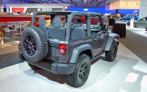 As the name suggests, this special edition Wrangler is all about getting back to those utilitarian Willys roots.