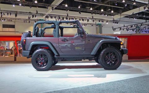 With this Wrangler, it's all the neat equipment that you don't see that really makes it.