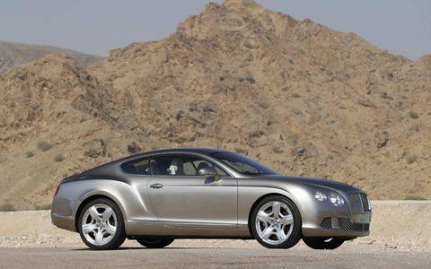 iPad Gallery: 2012 Bentley Continental GT in Liquid Mercury