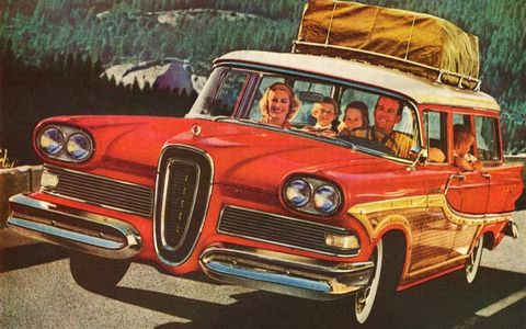 The Edsel wasn't a horrible car, but its styling, pricing and timing crippled Ford Motor Co. That there's a turkey.