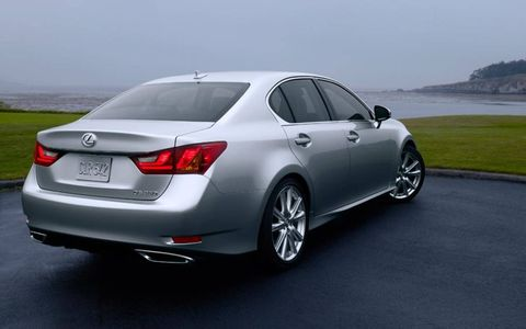 Weight was cut by 157 pounds on the new GS 350