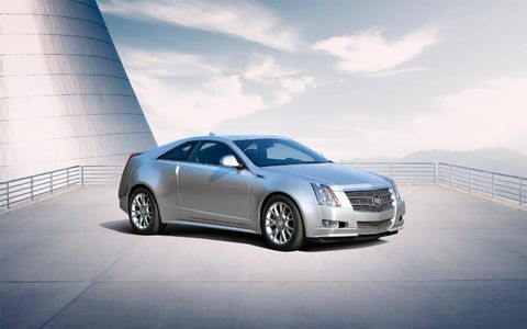 The 2011 Cadillac CTS coupe