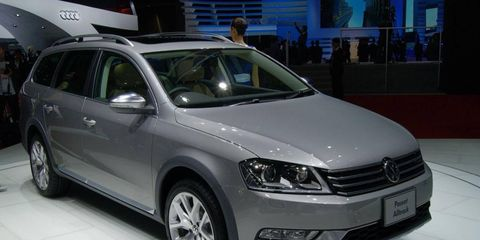 The Volkswagen Passat Alltrack debuted at the Tokyo motor show.