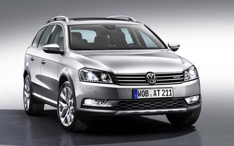 The Volkswagen Passat Alltrack will feature a DSG transmission