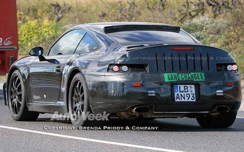 Spied: Porsche 911