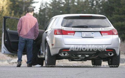 Spied: Honda Accord sport wagon