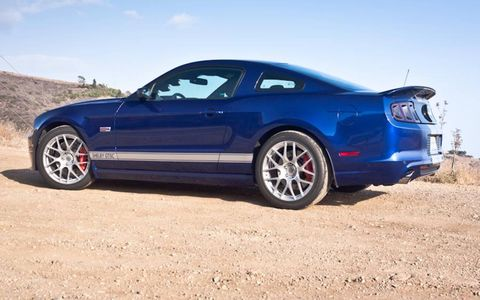 $27,995 over the regular Mustang gets you the Whipple supercharger and up to 624 horsepower.