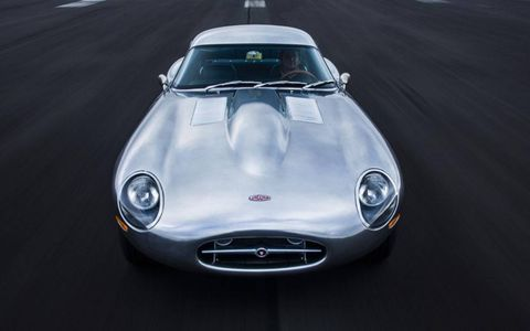 The Eagle Low Drag GT is based on a racing version of the Jaguar E-Type.
