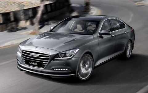 The 2015 Hyundai Genesis Sedan moves up a notch or two in luxury and performance.
