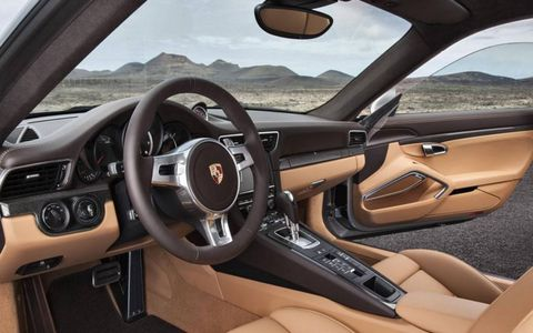 Interior of the Turbo S.