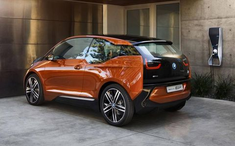 Like the BMW i3 hatchback, the i3 coupe is built around the so-called Life Module structure, which makes heavy use of lightweight composite materials.