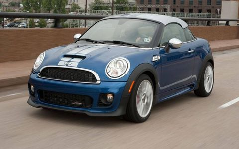 Its looks are unconventional, but there's no denying that the 2012 Mini John Cooper Works Coupe is a blast to drive.