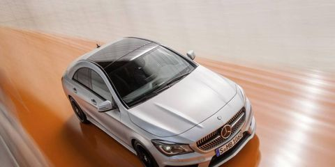 The 2014 Mercedes-Benz CLA250 starts at a base price of $30,825. Mercedes is targeting younger buyers with their more affordable price.