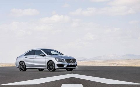 The CLA250 features 2.0-liter engine producing 208-hp and 258 lb-ft of torque.