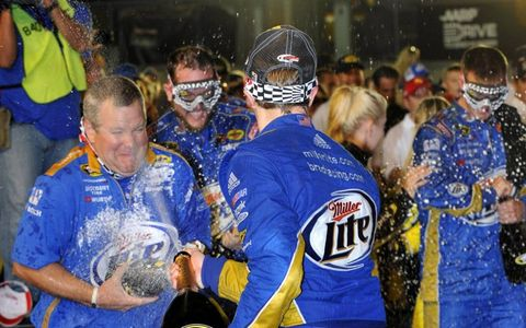 Penske Claims Sprint Cup Championship